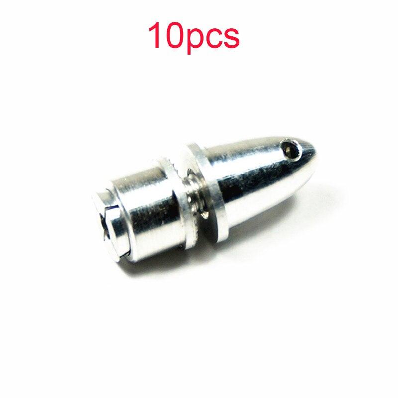 10 Uds 3mm/3,17mm/4mm de aluminio de propulsor de balas adaptador Prop titular...