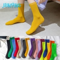 lovely adult tube socks multi color cotton cartoon personalized novelty breathable harajuku thick and warm cute casual hip hop