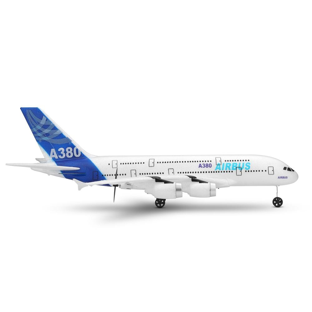 WLtoys XK Airbus A380 Rc Airplane 2.4G Three Channels Back Push Dual Power Gliding Electric Rc Plane Toys For Kids Adults A120 enlarge
