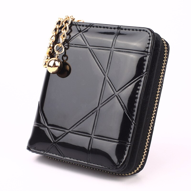 Wallets for Women Luxury Designer PU Leather Zipper Mini Wallet Clutch Fashion Coin Money Purse Card Holder Smart Wallets 2021