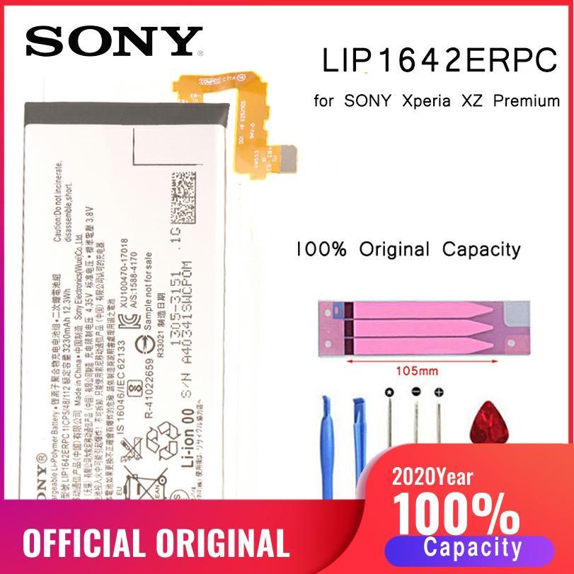 Оригинальный аккумулятор SONY для телефона SONY Xperia XZ Premium G8142 XZP G8142 G8141 Сменные Аккумуляторы LIP1642ERPC bateria