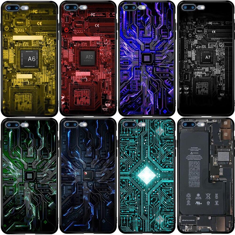 Batería de la computadora teléfono placa de circuito funda para Samsung M10 M20 M30S A10E A20E A30S A40 A50 A60 A70S A80 A5 A8 A6 J6 Plus 2018