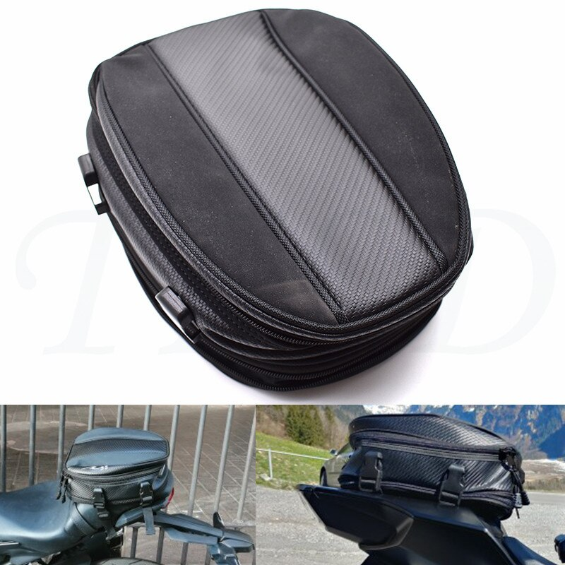 Bolsa trasera de la motocicleta bolsa de asiento trasero duradera (incluida la cubierta de lluvia) Deportes de montar a prueba de agua para HONDA cbr900rrr cbr919cr CBR893RR