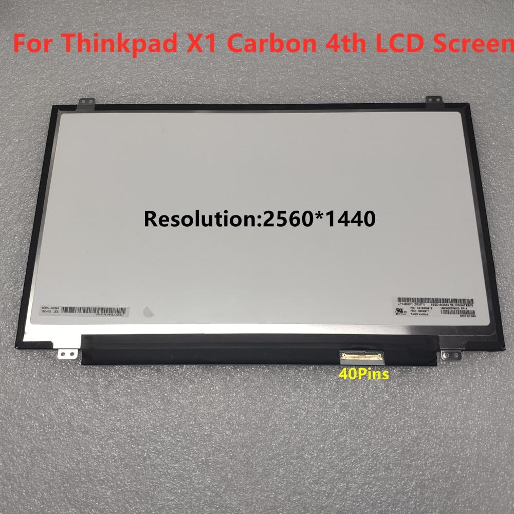 tela de exibicao lcd tridimensional para lenovo thinkpad x1 carbono 4th gen 2016 b140han17 lp140wf6
