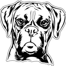 Cute Melancholy Dog Car Sticker Accessories Car Styling Decal Vinyl Car Window Cover Scratches Water