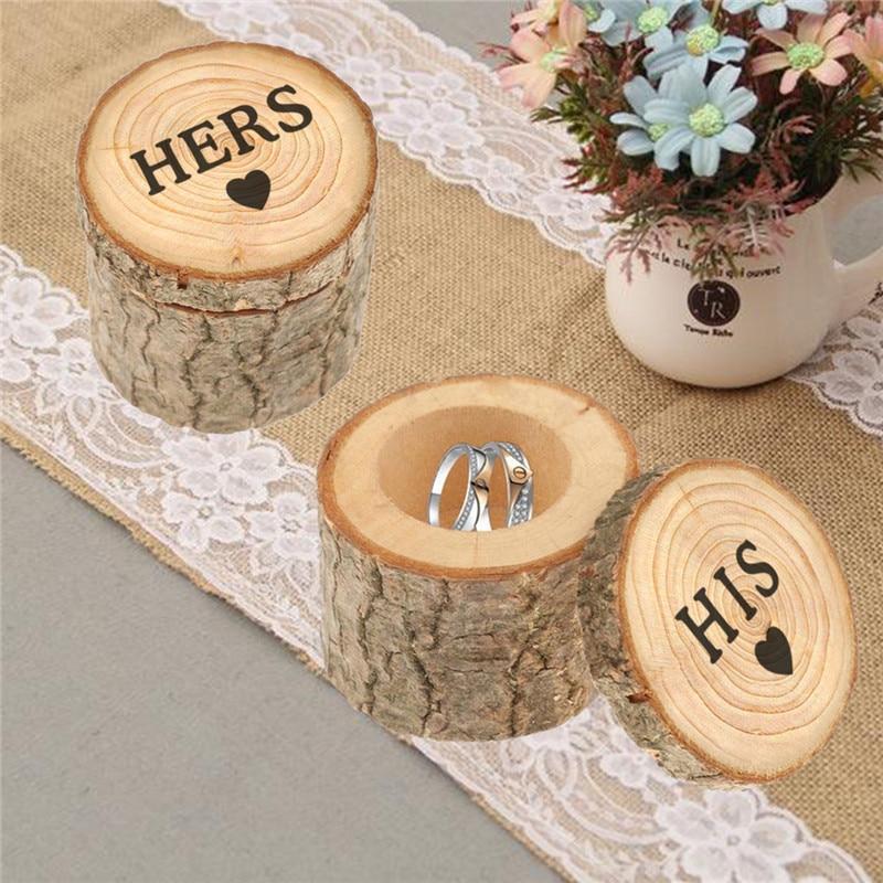 Caja de boda personalizada/caja de transporte de madera de San Valentín, soporte...