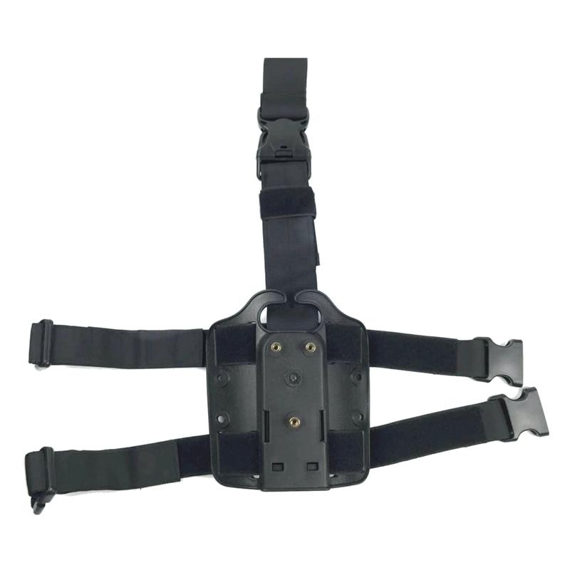Por safariland-funda militar táctica 3280 para pierna, plataforma, pistola, placa de Panel...
