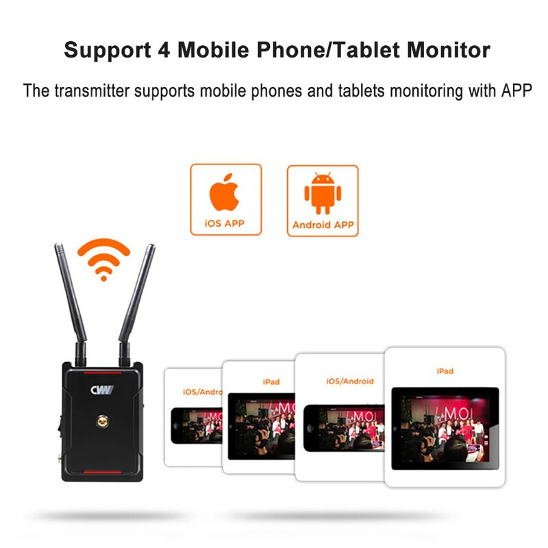 CVW SWIFT 800 800ft/250m HDMI Wireless Extender 800ft hdmi wireless transmitte receiver 250Meter 1080PSupport smartphone Monitor