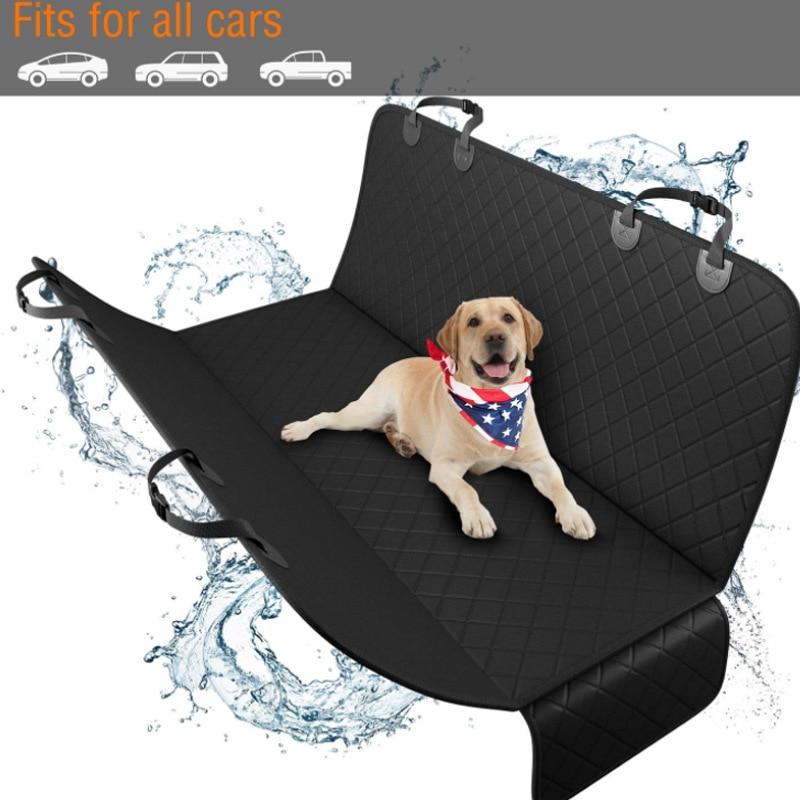 Car Seat Cover Dog Car Mat Waterproof Pet Dog Carrier Cars Rear Back Seat Mat Hammock Cushion Protector Mat Non-slip Folding