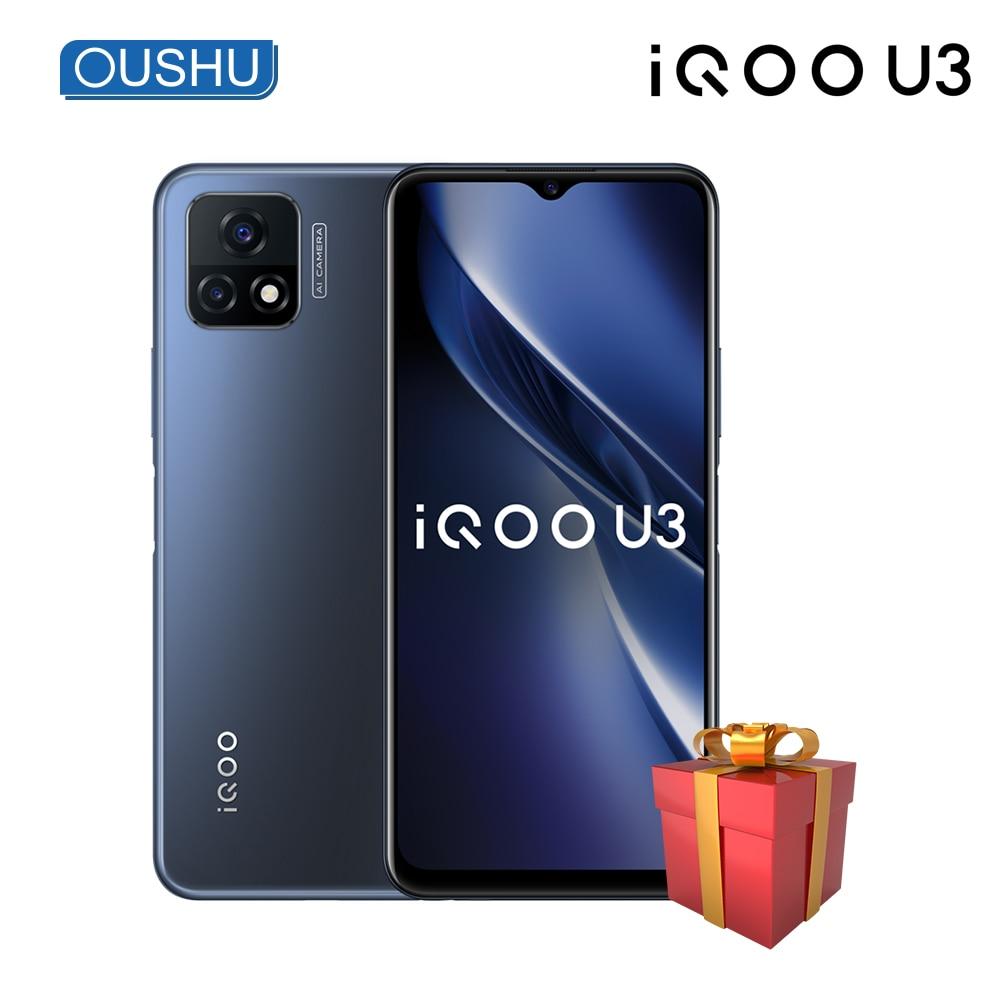 Original IQOO U3 5G Smartphone MTK Dimensity 800U 90Hz Refresh Rate 5000mAh 18W Dash Charge 6.58'' LCD Fullscreen Cellphone