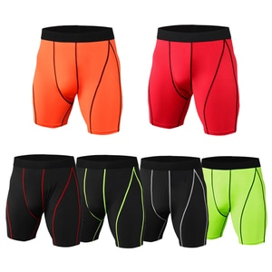 2020 Men's compression shorts, knee-length quick-drying shorts, base leggings, running layer, sports underwear,Men's Shorts