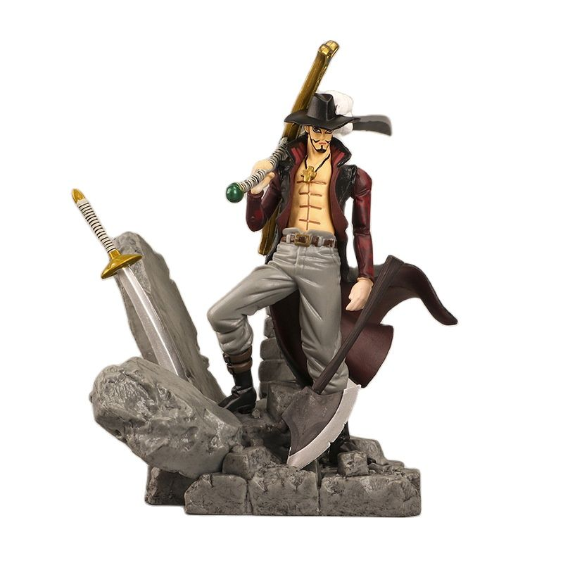 7 anime figure neca pvc jason voorhees friday ultimate horror deluxe edition action figure model toys for collection gift 14cm New Anime Figure One Piece Dracule Mihawk Figurine Combat ver. PVC Action Figure Collection Model Toys Children Gift