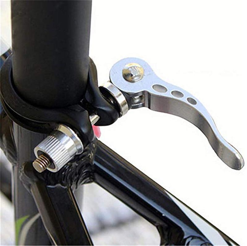 Alumínio Quick Release Da Bicicleta Da Bicicleta Espigão Braçadeira Selim Clipe Mountain Bike Braçadeira Tubo Do Assento Acessórios Para Bicicletas