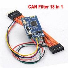 Новейший MB CAN фильтр 18 в 1 CAN фильтр для W222/W205/W447/204/W212/E(W207)/W246 Универсальный фильтр для Benz и BMW