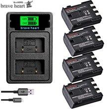 1400mAh NB-2L NB-2LH NB 2L nb2l NB2LH batterie + double chargeur USB pour Canon EOS 400D S80 S70 S50 S60 350D G7 G9 Kiss N X rebelle XT