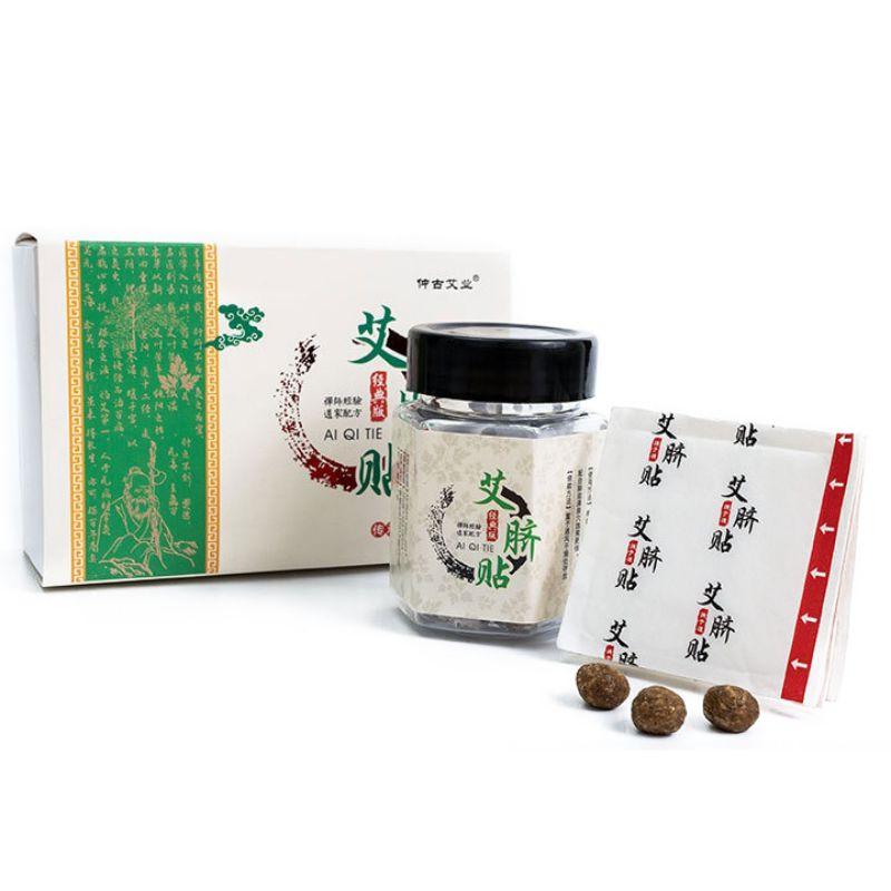 Paste de ombligo medicina china transpirable Mugwort Abdomen almohadilla de calentamiento de estómago parche pegatina hoja adhesiva nuevo