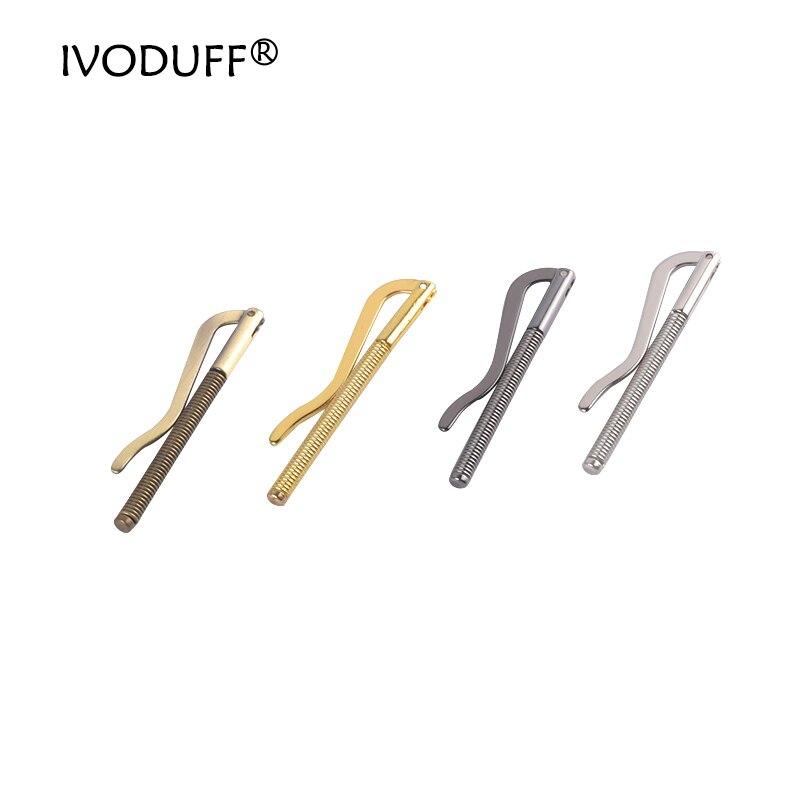 5 шт./лот 75 ~ 85 мм пружинный зажим для денег, металлический кошелек DIY зажим металлический аксессуар
