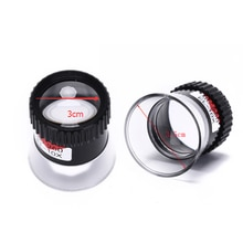 1Pcs Jewelry 10X Monocular Glass Magnifier Watch Jewelry Repair Tools Loupe Lens Black Watchmakers W