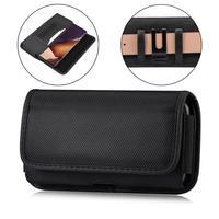 Горизонтальный прочный нейлоновый тактический Чехол-кобура для сотового телефона iPhone 11 Pro Max,XS Max,6s Plus с зажимом, Защитная сумка для торжеств...