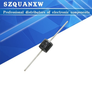 Free shipping 100PCS 10A10 1000V 10A R-6 Axial Rectifier Diode New original