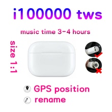 I100000 TWS hava Pro kulaklık gürültü iptal kulaklık dokunun kontrol kulaklık PK i200 i500 i9000 audifonos bluetooth inalambrico