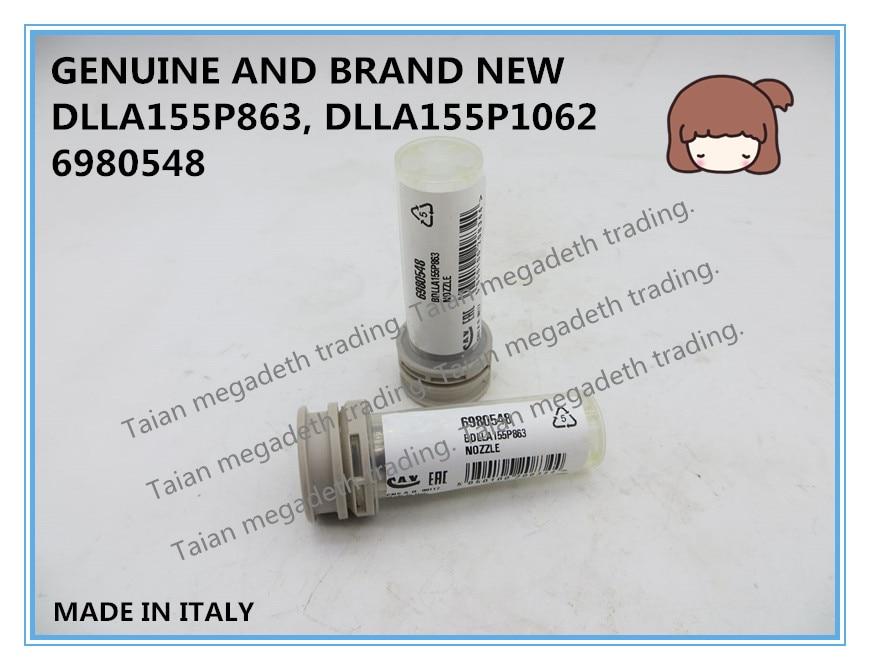 Boquilla para combustible DLLA155P863 genuina y completamente nueva para inyector 095000-5440, 095000-5920, 095000-6760, 095000-7030, 095000-7400