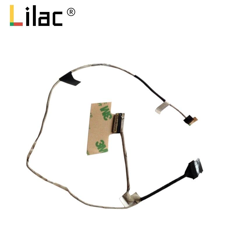 Tela de vídeo fio flexível para hp chromebook11 g5 ee n22 n21 portátil lcd led lvds display fita cabo ddll6ulc112