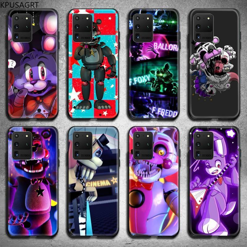 SFM Fnaf Animatronics Anime Phone Case for Samsung S20 plus Ultra S6 S7 edge S8 S9 plus S10 5G lite