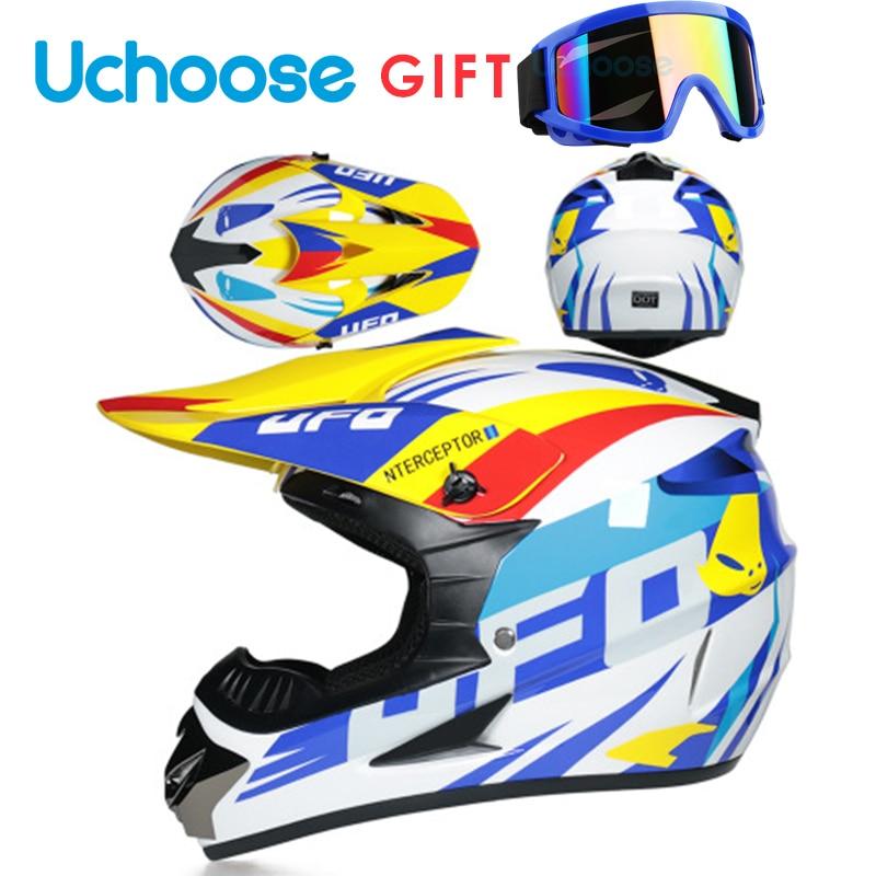 Protective Motorcycle Helmets Moto Racing Motocross Off-road Cartoon Children Motobike Helmet Casque Moto Capacete Moto Casco enlarge