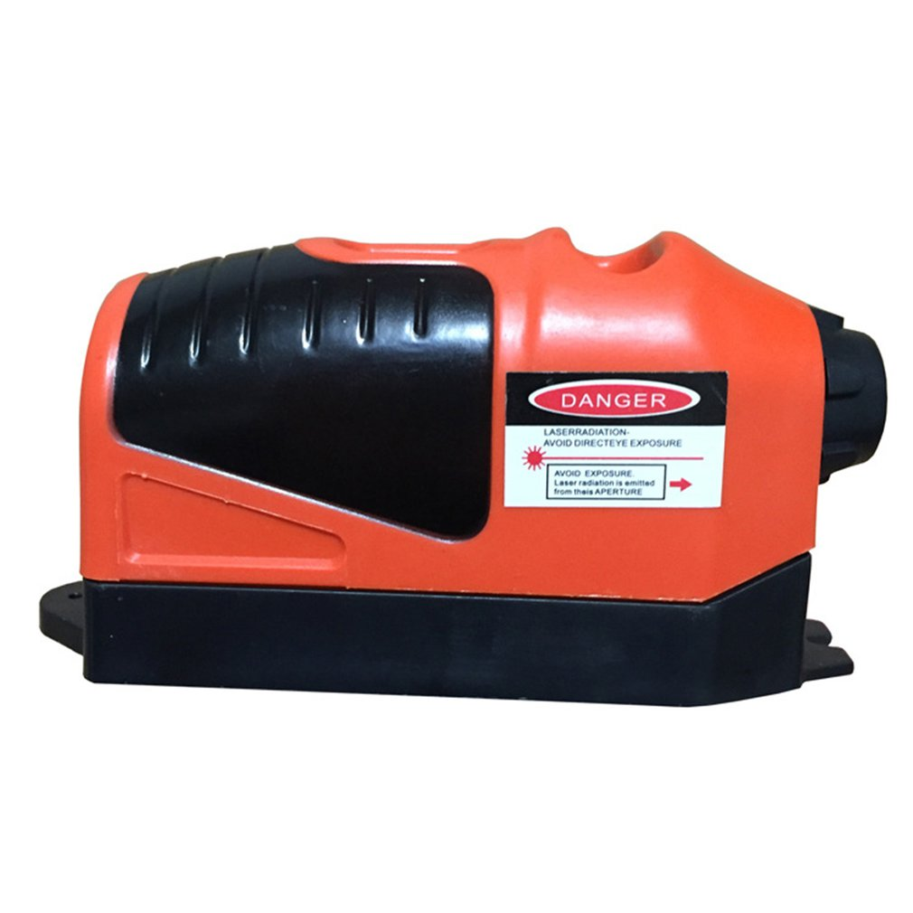 Instrumento de línea de tinta de nivel de espíritu láser infrarrojo, plástico ABS, medición Vertical, colgante de instalación para techo de casa