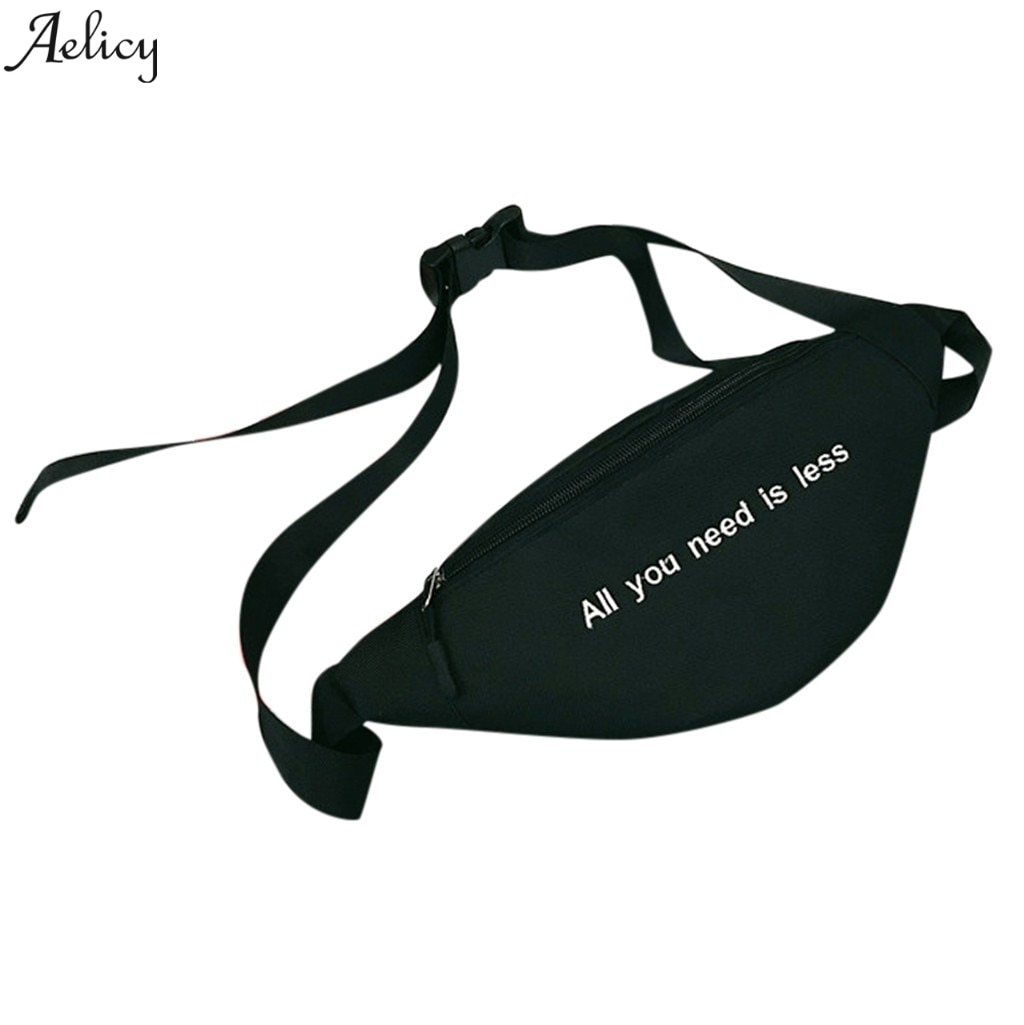 Aelicy saco de peito unisex lona zíper sacos de desporto para as mulheres crossbody saco cintura sacos designer fanny pacote moda cinto