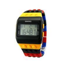 Kids Electronic Silicone Bracelet Wrist Watch Reloj Nino Unisex Colorful Digital Wrist Watch Casual Watch Select Gift for kid