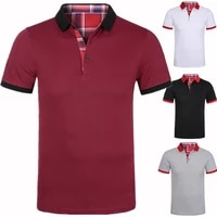 dropshipping 2021 brand mens polo shirt solid patchwork t shirt men casual cotton top tees men large s 3xl