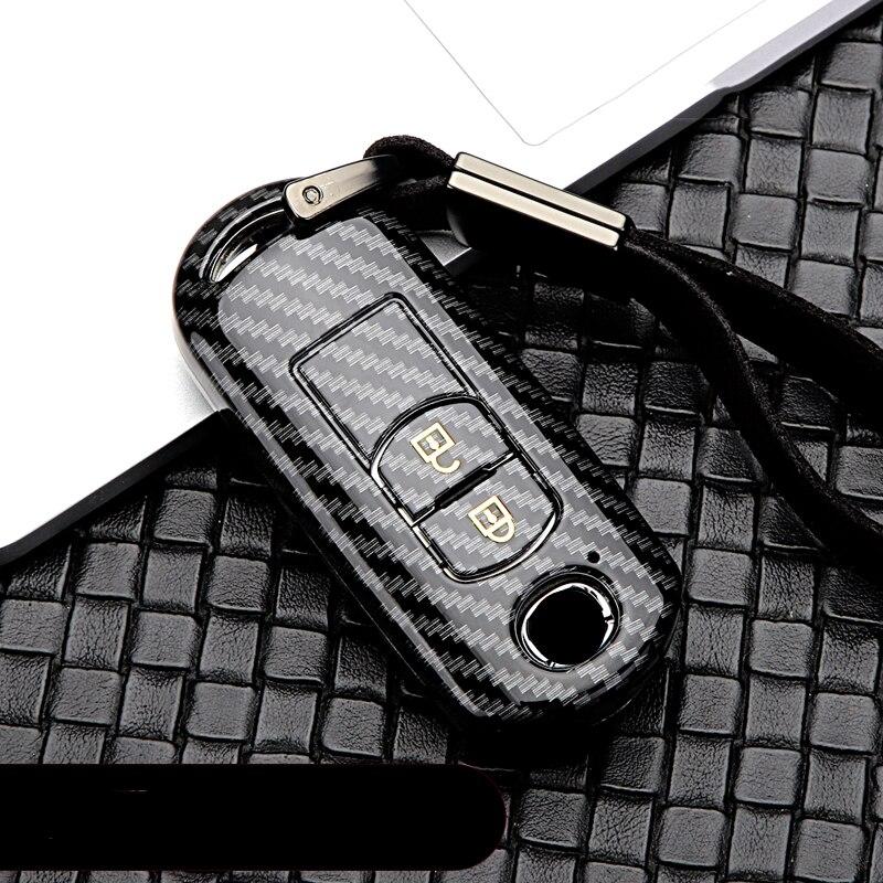 Car Key Protection Case Cover Shell Protector Ring Covers For Mazda 2 3 5 6 Demio CX-3 CX-4 CX-5 CX-7 CX8 CX-9 MX5 Axela Atenza