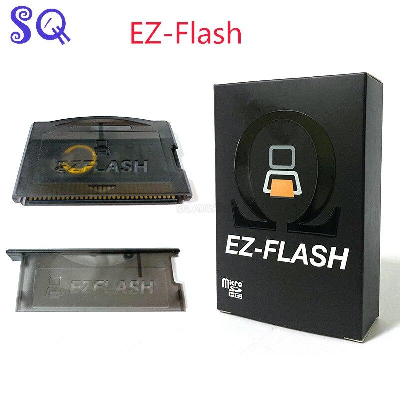 EZ-Flash أوميغا مع ساعة في الوقت الفعلي ودعم Micro-SD سعة 128 جيجابايت ، متوافق مع EZ4 EZ-flash ez 3 في 1