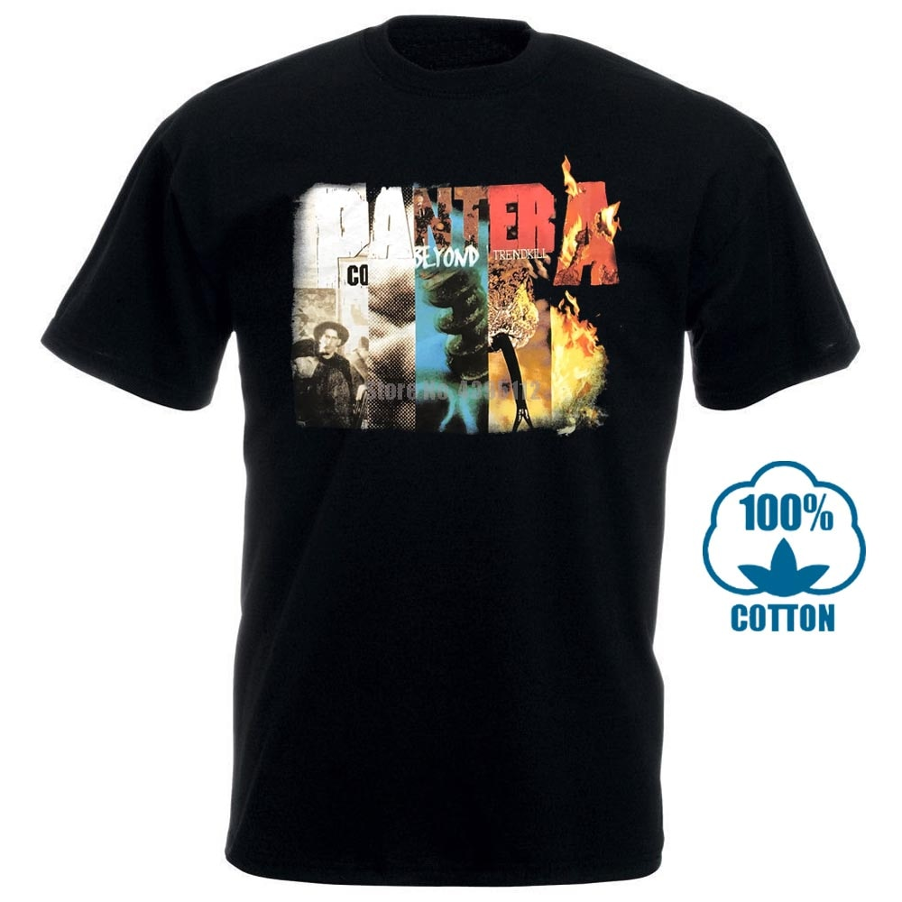 Pantera Album Collage Shirt S M L Xl Official T Shirt Metal Rock Band Tshirt New