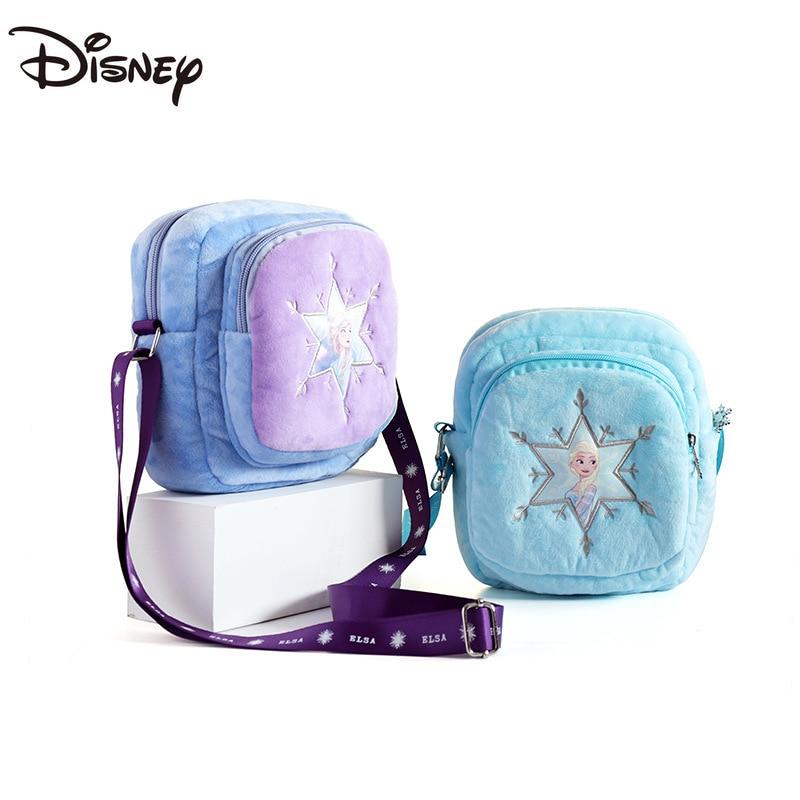 Congelado dos Desenhos Bolsa de Ombro Bolsa do Mensageiro das Crianças Bolsa do Miúdo Disney Animados Bonito Moda Casual Carteira Princesa Aisha Moeda Presente