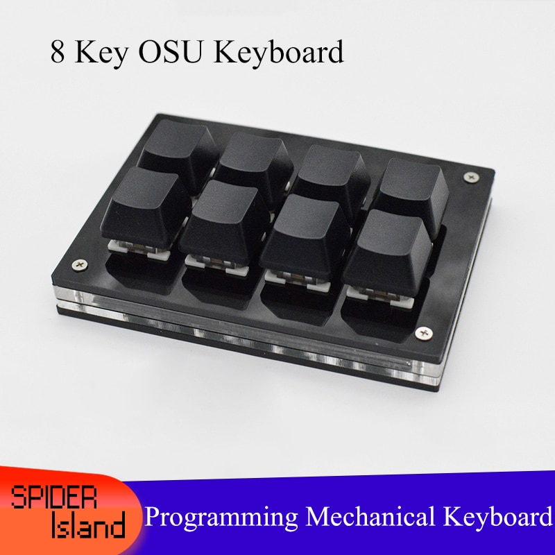 8 Keys Mechanical Keyboard With Software OSU! Keyboard For Windows Gaming Keyboard Programming Macro keypad for shortcut PS PR