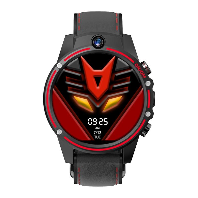 TIPTOP Kospet Vision 4G 1.6inch Smart Watch Dual Camera 3GB+32GB MT6739 Heart Rate Monitor Bracelet