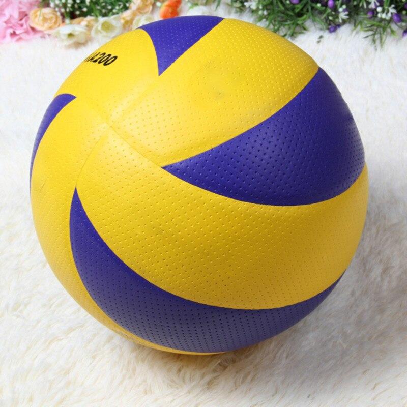 Poleibol portátil em 2020, novo tamanho 5, pu, resistente, partida oficial, mva200, vôlei, toque macio, para treinamento interno, bolas de vôlei