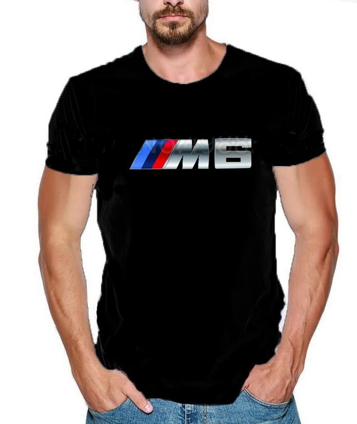 2019 Summer M Power T-Shirt German car fans Power M Performance M3 M4 M5 M6 E30, E36, E46, E90 GT3 GT2 Top Quality Tee Shirt  qB