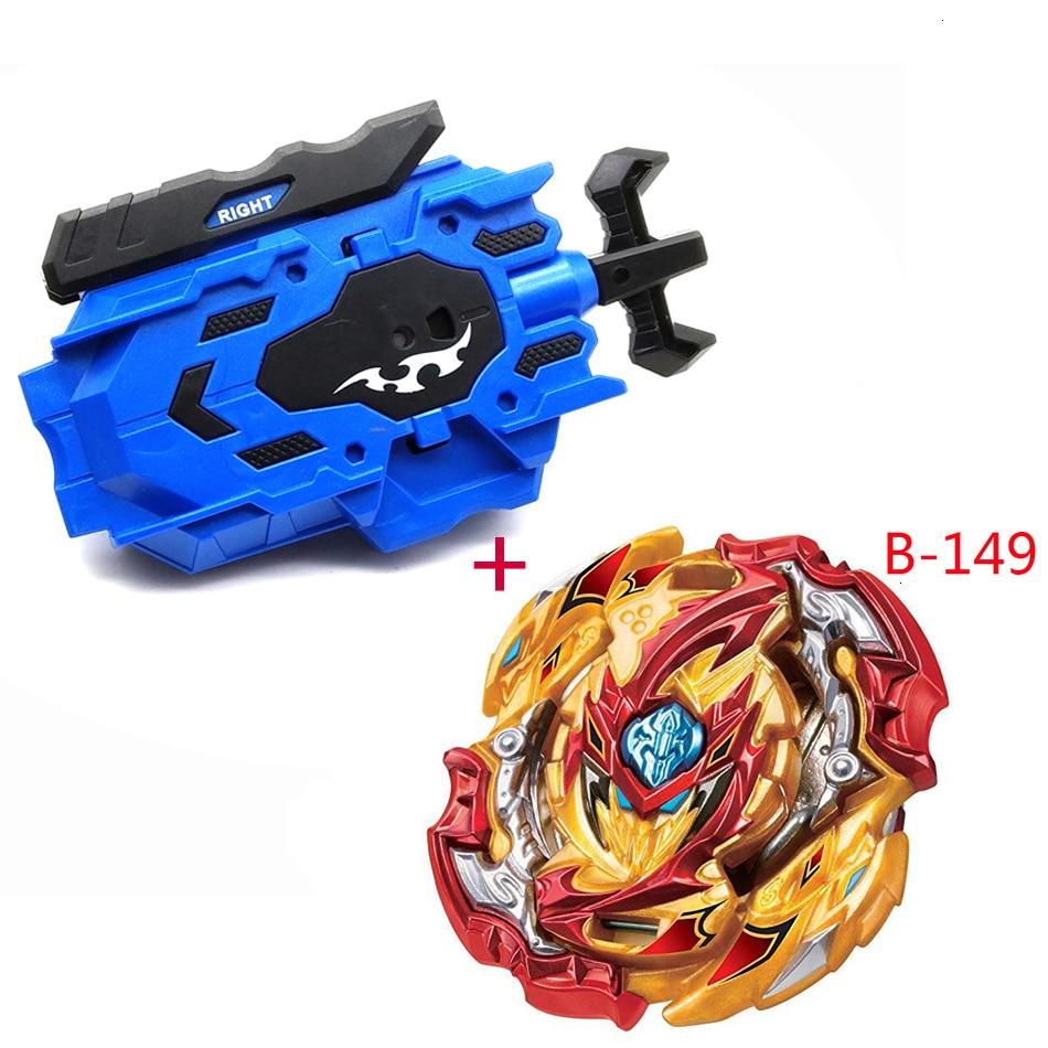 Novos modelos beyblade lançador explosão b149 b150 b145 b148 144 gt. Metal arena deus fafnir bayblade bayblade brinquedo lâminas
