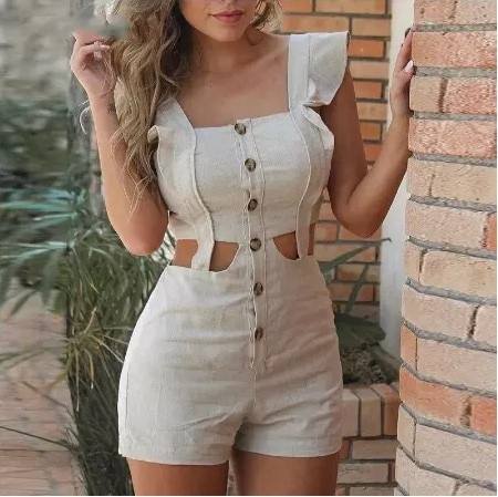 2021 spring and summer new European American fashion sexy jumpsuit