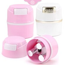 New 2Colors Matte Eyelash Glue Storage Tank Container Adhesive Stand Activated Carbon Sealed Storage