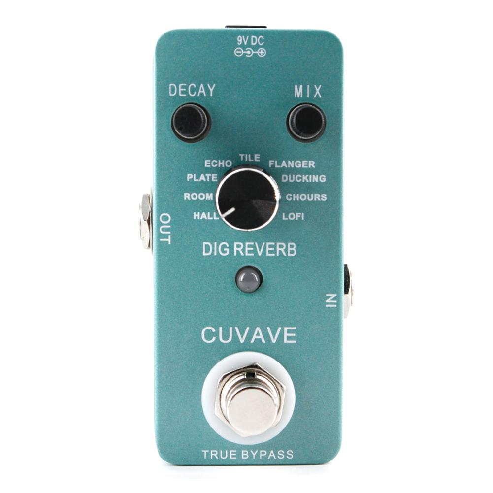 Portable Guitar Effect Pedal Compressor Booster Distortion Overdrive Distortion Guitar Pedal Stompbox Tuner Fuzz Pedal