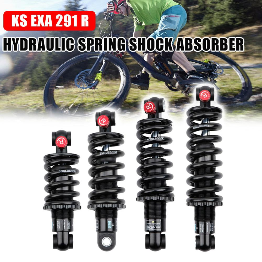 190MM Bike Rear Shock Absorber Alloy Air Rear Shock Absorber Adjustable Damping for Cycling Travel Downhill Bicycle Accessories