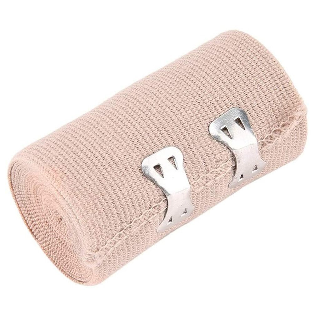 1 Roll High Elastic Bandage Wound Dressing Emergency Muscle Tape For First Aid Kits Accessories Outdoor Sports Sprain Treatment