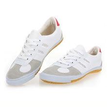 USHINE EU34-46 volley-ball classique Sport chaussures Original coopération Arts martiaux TaiChi ShuangXing baskets homme femme grande taille