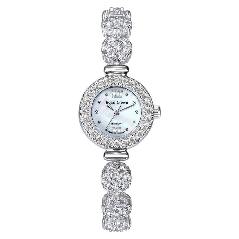 MIQIAO Women's Watches 925 Sterling Silver Jewelry Elegant Ladies Watch Female Diamond Zircon Bracelet Waterproof Quartz Gift enlarge