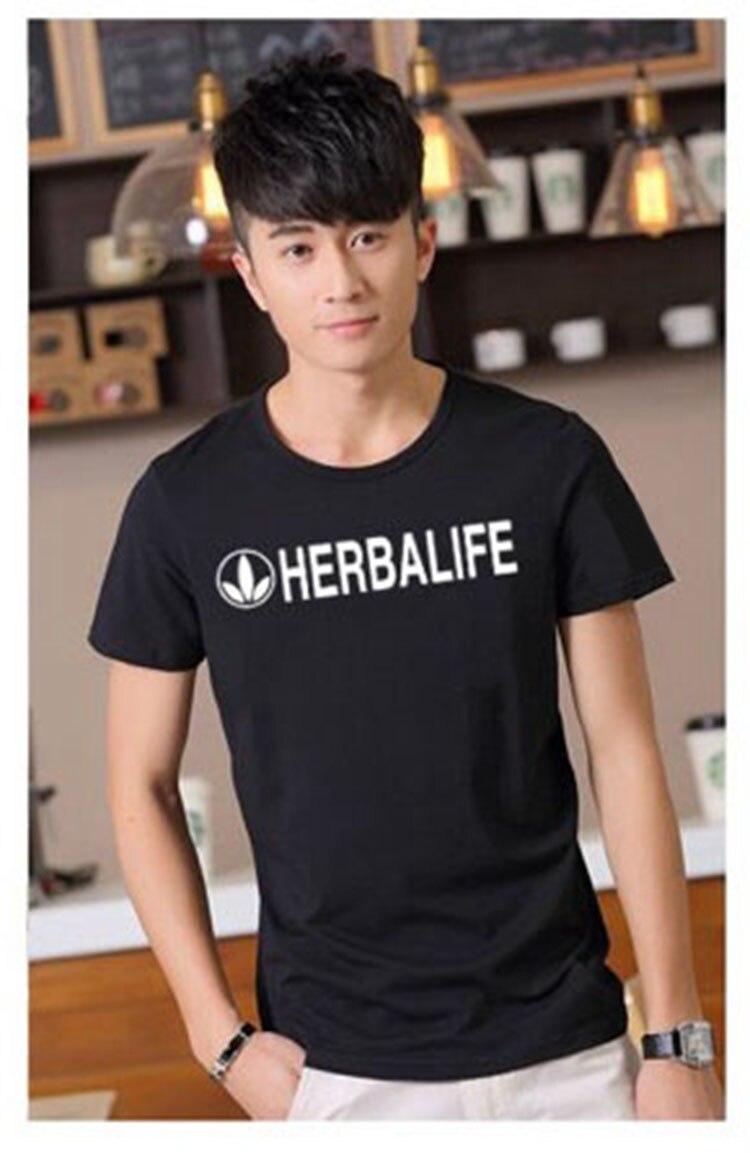 2020 Brand HERBALIFE  Tee Quick Drying Breathable Outdoor Sports Men Tshirt motocross Short Sleeve Top Fishing T Shirt enlarge